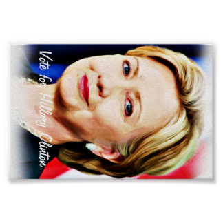 Vote Hillary Clinton for President of USA_ Poster