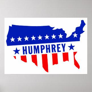 Vote Hubert Humphrey Poster