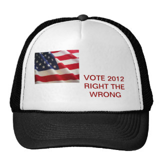 VOTE IN 2012 HAT