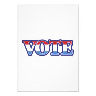 Vote Announcements