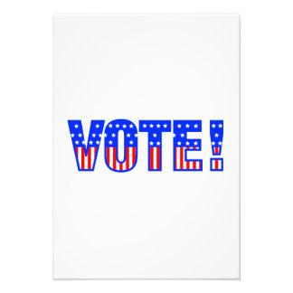 Vote Custom Announcements