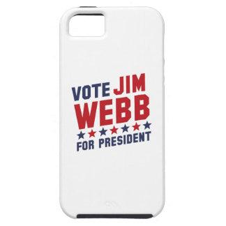 Vote Jim Webb iPhone 5 Cases