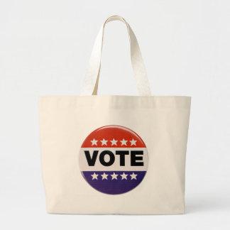 Vote! Jumbo Tote Bag