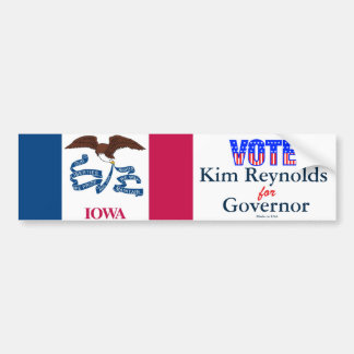 Vote Kim Reynolds for Governor Bumper Sticker
