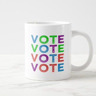 Vote Large Coffee Mug
