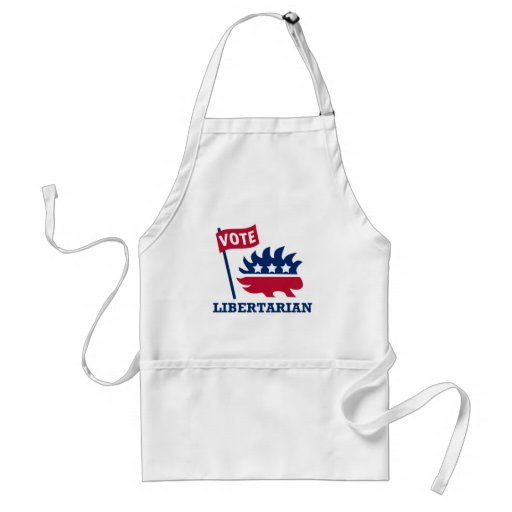 VOTE LIBERTARIAN - freedom/liberty/constitution Aprons