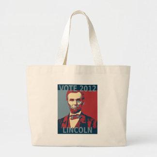 Vote Lincoln 2012 Tote Bag