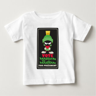 Vote MARVIN THE MARTIAN™ for President Baby T-Shirt