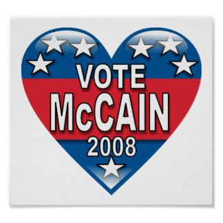 Vote McCain 2008 Posters