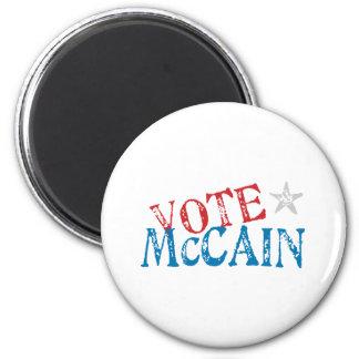 Vote McCain 6 Cm Round Magnet