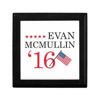Vote McMullin 2016 Small Square Gift Box