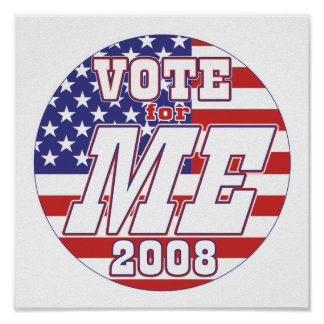 Vote ME 2008 Poster