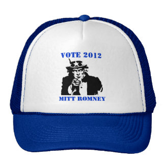 VOTE MITT ROMNEY 2012 CAP