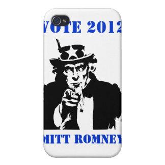 VOTE MITT ROMNEY 2012 iPhone 4/4S CASE