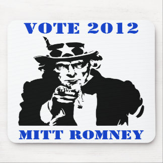VOTE MITT ROMNEY 2012 MOUSE PADS