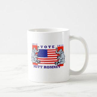 VOTE MITT ROMNEY 2012 MUGS