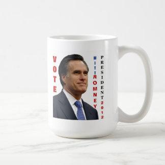 Vote Mitt Romney 2012 Mug