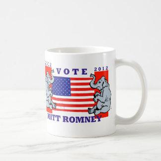 VOTE MITT ROMNEY 2012 COFFEE MUGS