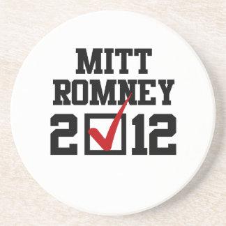 VOTE MITT ROMNEY 2012 png Beverage Coasters