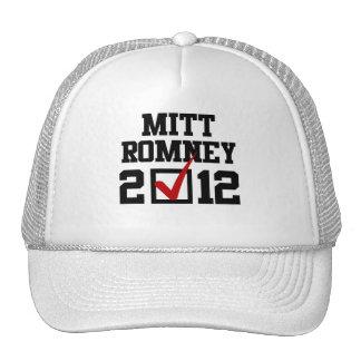 VOTE MITT ROMNEY 2012.png Hats
