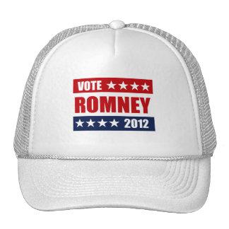 VOTE MITT ROMNEY 2012 -.png Mesh Hats
