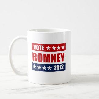 VOTE MITT ROMNEY 2012 -.png Coffee Mugs