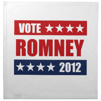 VOTE MITT ROMNEY 2012 - png Napkin