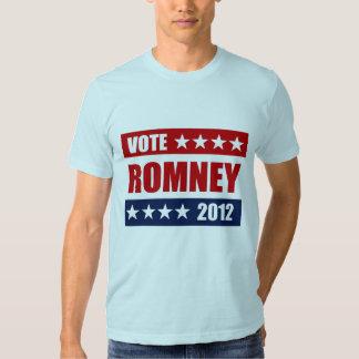 VOTE MITT ROMNEY 2012 -.png Tshirt