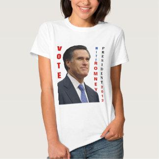 Vote Mitt Romney 2012 Shirt