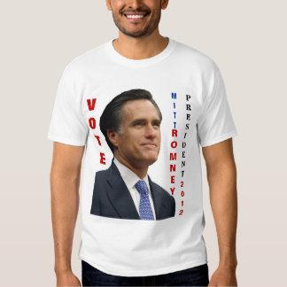 Vote Mitt Romney 2012 T Shirt