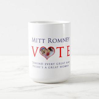 Vote Mitt Romney For President 2012 Basic White Mug