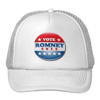 VOTE MITT ROMNEY PIN ROUND.png Hats