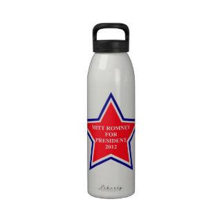 Vote Mitt Romney Water Bottles