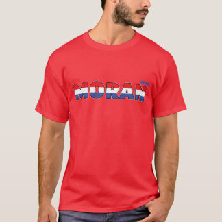 Vote Moran 2010 Elections Red White and Blue T-Shirt