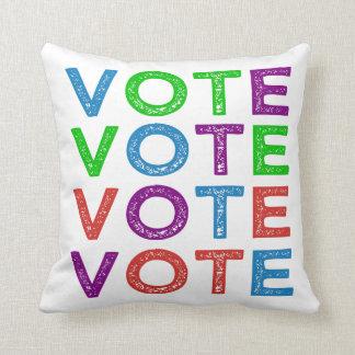 VOTE Multi-colored Cushion