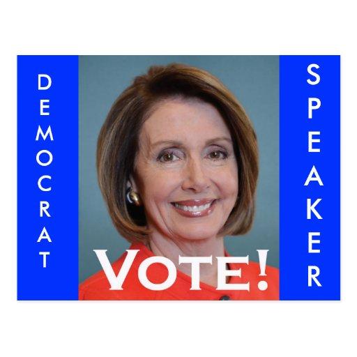 Vote Nancy Pelosi Postcards