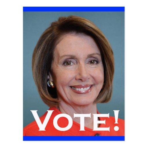 Vote Nancy Pelosi Post Cards