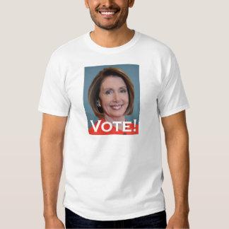 Vote Nancy Pelosi Tee Shirts