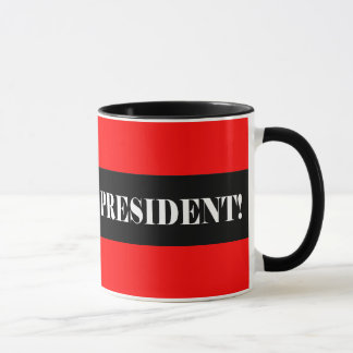 Vote No for President Mug