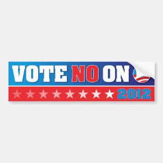 Vote No on O - 2012 Bumper Sticker