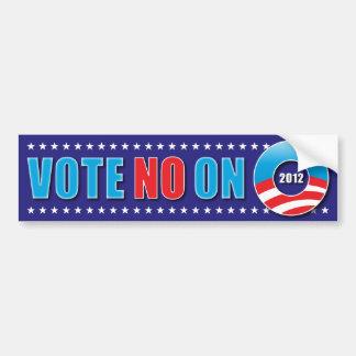 Vote No on O Bumper Sticker