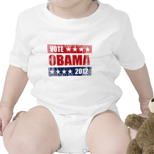 VOTE OBAMA 2012 SIGN Vintage.png T-shirts