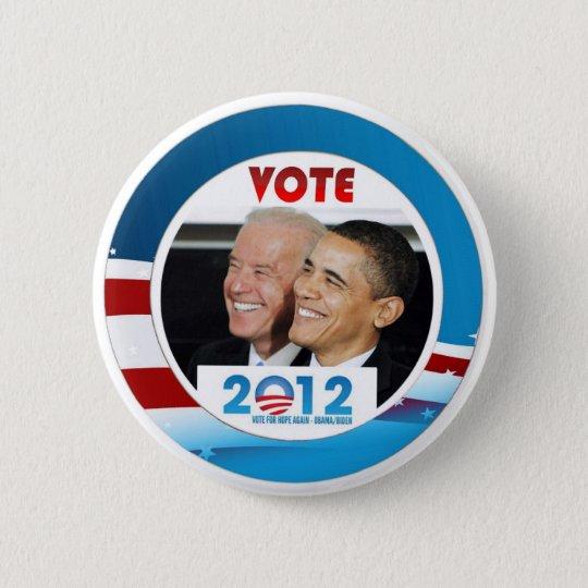 Vote Obama / Biden 2012 6 Cm Round Badge