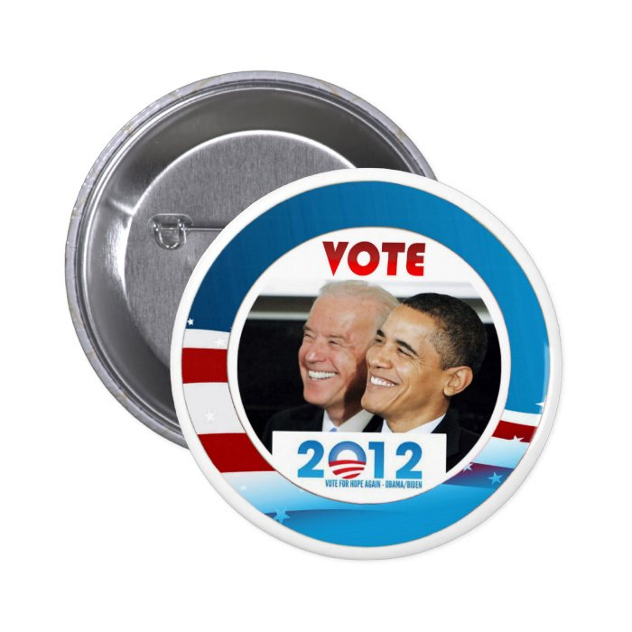 Vote Obama / Biden 2012 6 Cm Round Badge