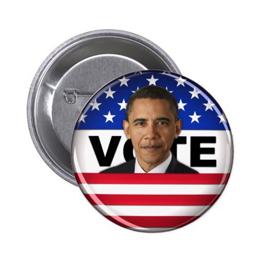 Vote Obama - Button