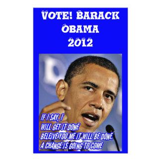 Vote!Obama_Flyer 14 Cm X 21.5 Cm Flyer
