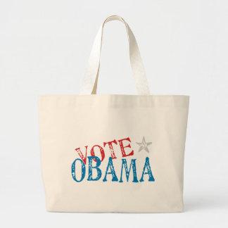 Vote Obama Jumbo Tote Bag