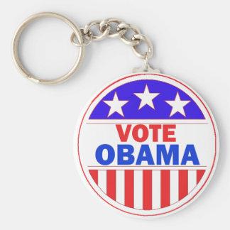 Vote Obama Key Ring