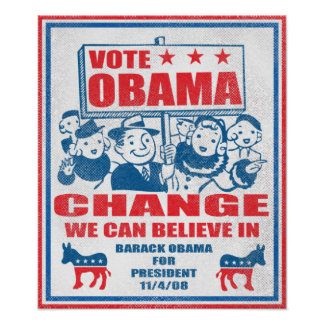 Vote Obama Poster