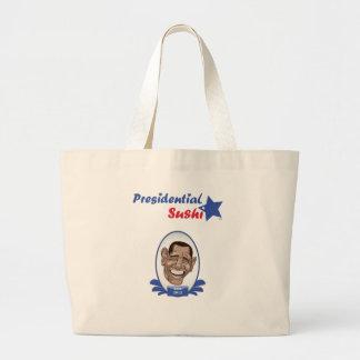 Vote Obama Presidential Sushi Tote Bags